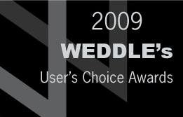 2009 Weddle's User's Choice Awards Winner