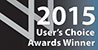 2015 User's Choice Award Winner